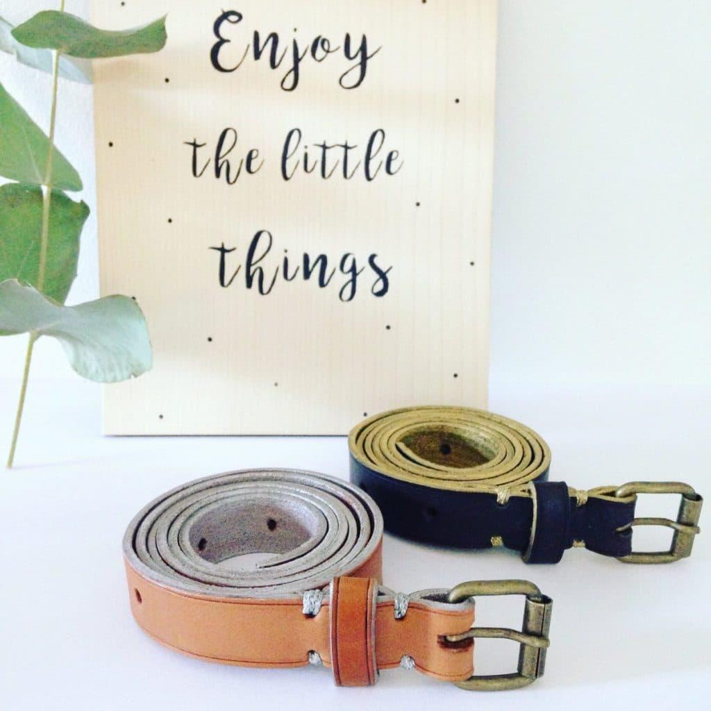 fabriquez votre propre ceinture avec un artisan