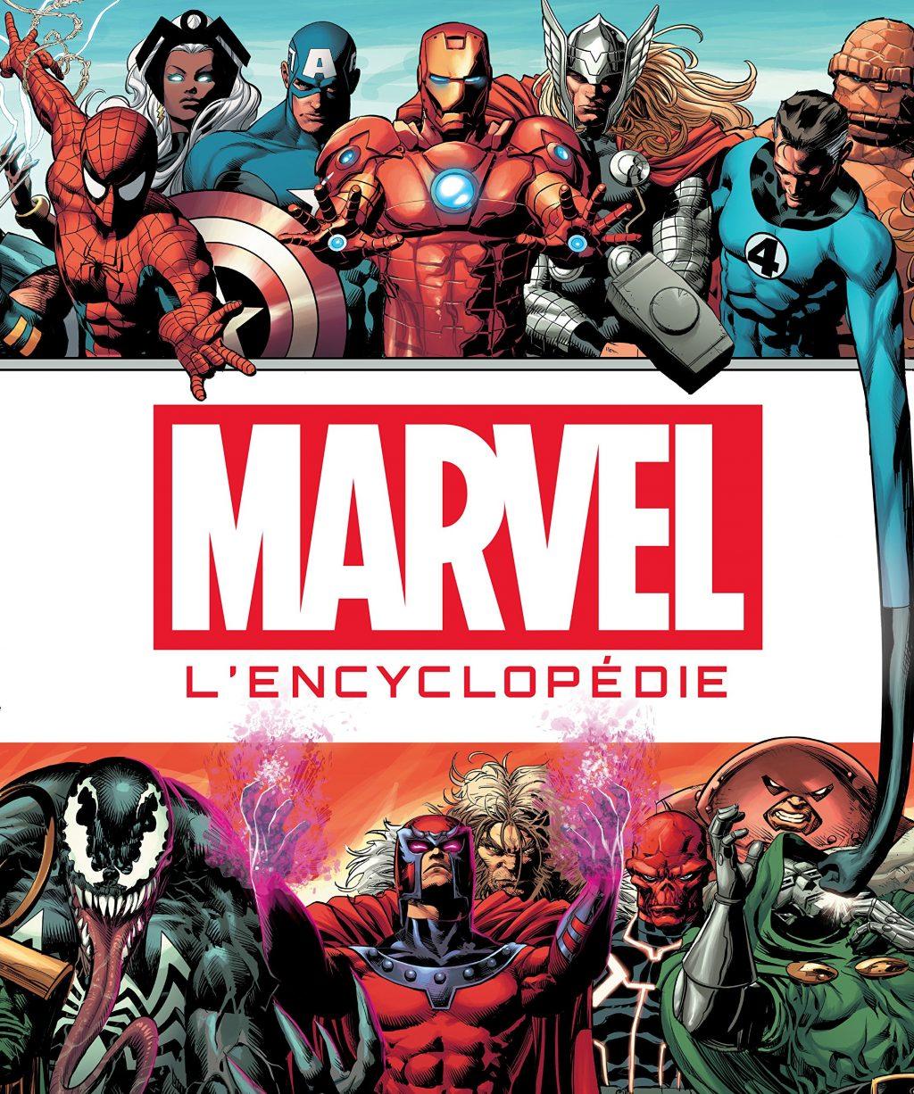 Marvel l'encyclopédie couverture
