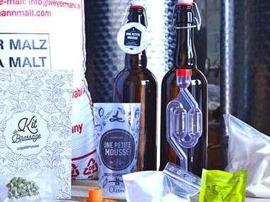 le kit de bière à fabriquer soi même