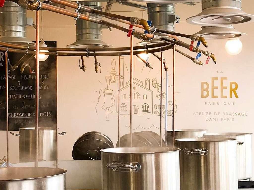 Brasser votre propre bière à la beer fabrique