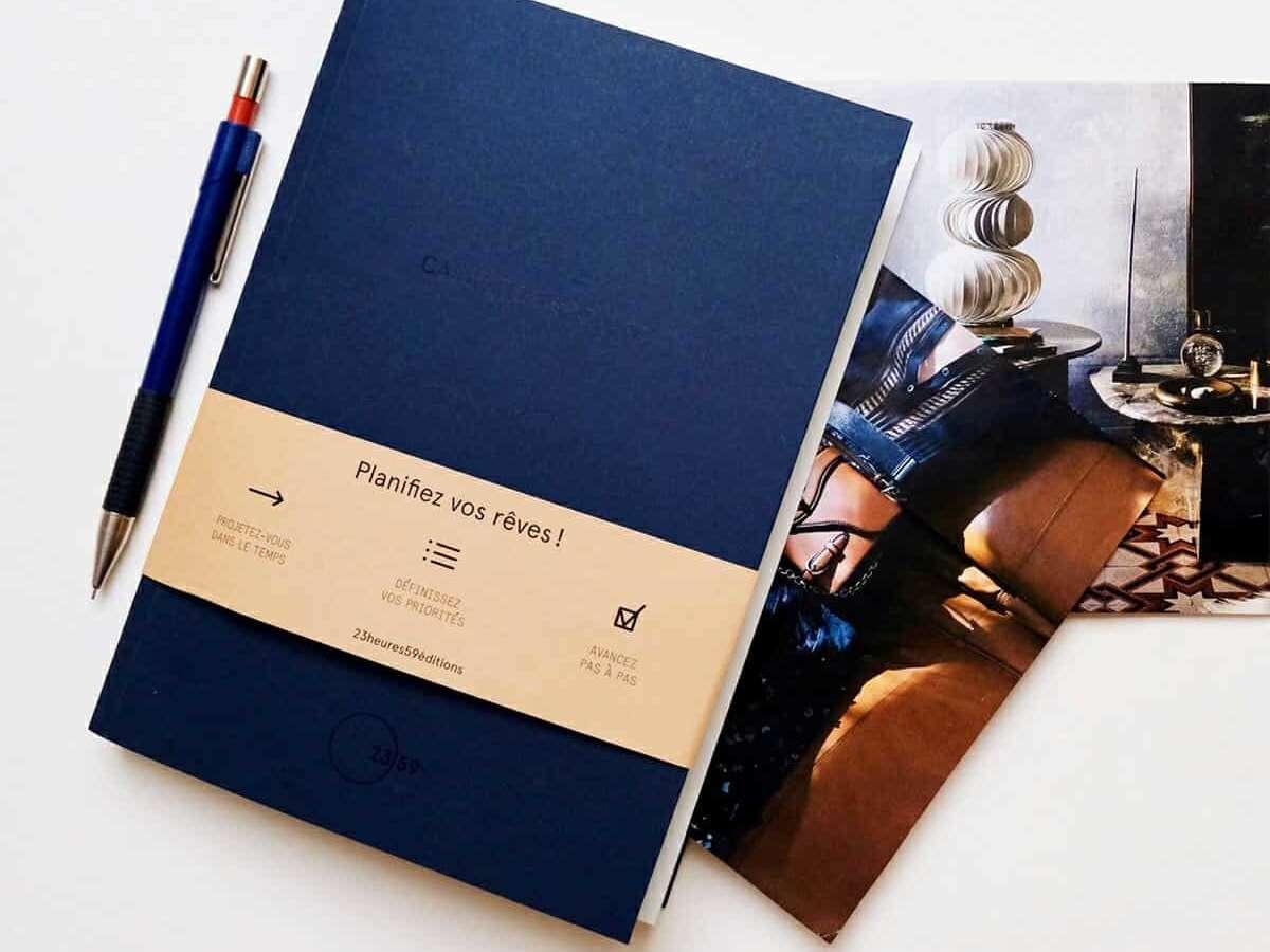le carnet de projets pour réaliser ses rêves