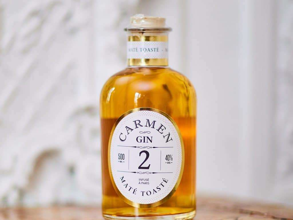 Le gin carmen à offrir à un homme