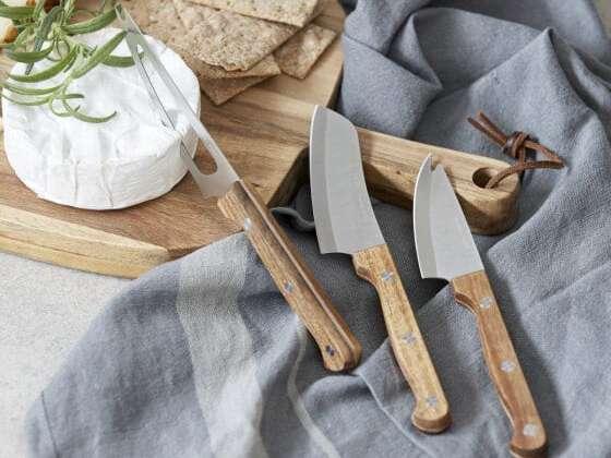 Le parfait coffret de trois couteaux à fromages