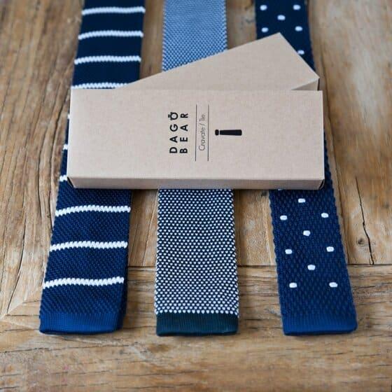 Ces cravates en maille tressée par Dagobear