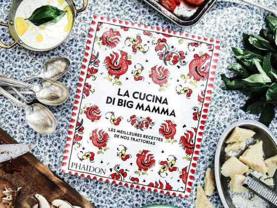 Un livre de 380 pages de délicieuses recettes italiennes
