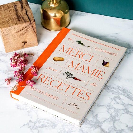 Un livre de 70 pages pour retrouver les recettes de Mamie