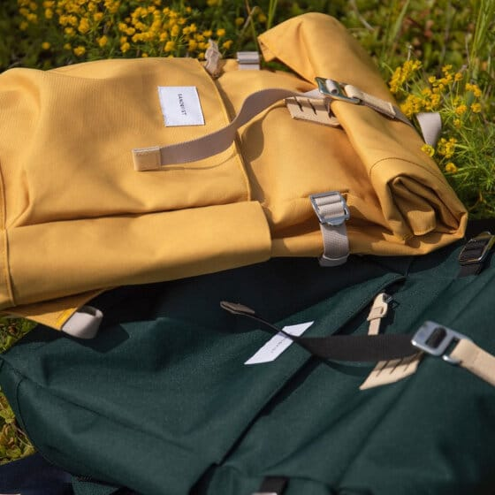 Un sac à dos urbain de la marque suèdoise