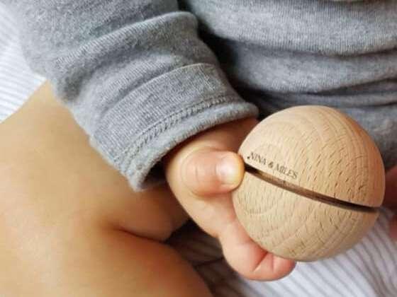 Un jouet en bois élégant et éducatif