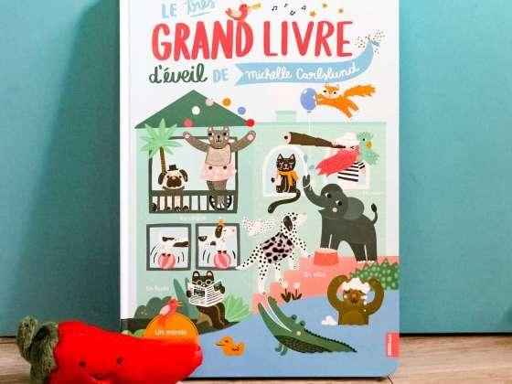 Un livre richissime rempli de couleurs et de textures variées