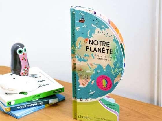 Un livre au format original et aux dessins soignés