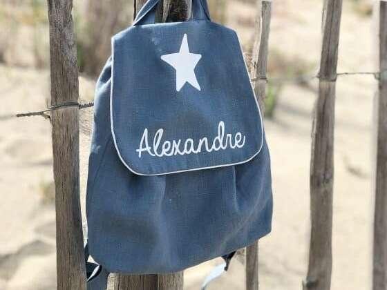 Un sac en lin léger aux couleurs tendances