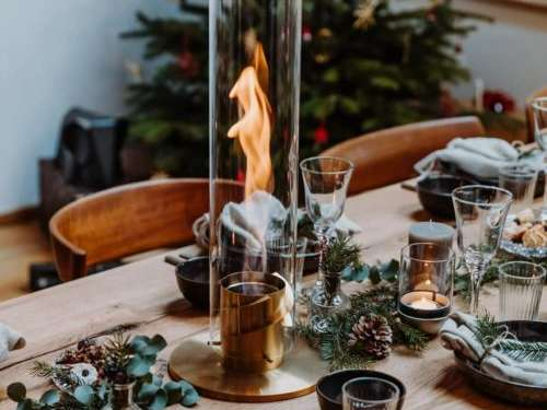 cheminée portable indoor et outdoor