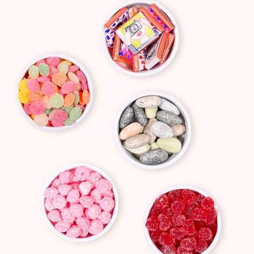 Composez votre pot de bonbons personnalisé