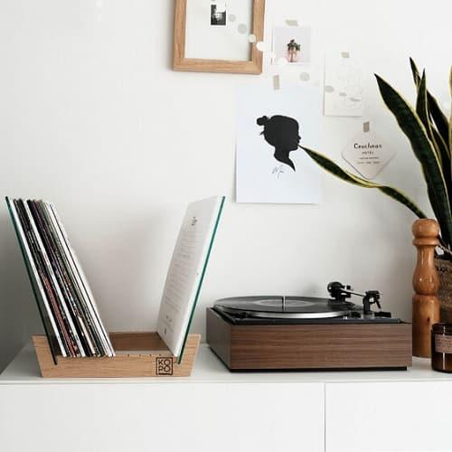 Rangement à vinyles